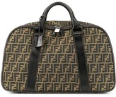 Fendi Pre Owned Zucca pattern travel hand bag