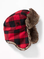 Old Navy Faux-Fur Trim Trapper Hat for Boys