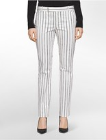 Calvin Klein Body Skinny Variegated Stripe Pants