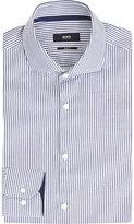 Boss Striped Slim-fit Cotton Shirt