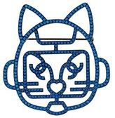 Chanel Crystal Cat Brooch w/ Tags