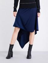 J.W.Anderson Asymmetric woven A-line skirt