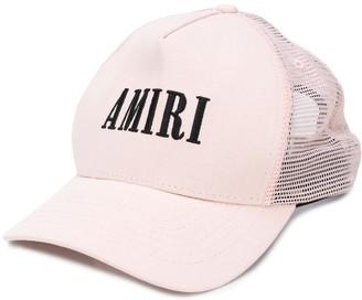 Amiri Logo Mesh-Panel Baseball Cap