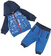Little Marc Jacobs Printed Jogging Jacket w/ Sweatpants, Size 12-18 Months