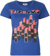 Yazbukey lipstick graphic print T-shirt