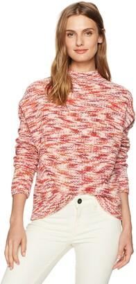 Velvet by Graham & Spencer Women's Spacedye Turtleneck Sweater