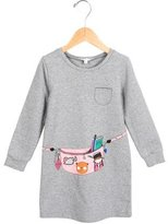 Little Marc Jacobs Girls' Printed Long Sleeve Dress