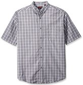 Wolverine Men's Big-Tall Men's Mortar Big and Tall Cotton Blend Short Sleeve Shirt