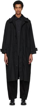 Toogood Black The Ploughman Coat