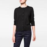 Paul Smith Women's Black Merino Wool Cardigan