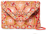 Antik Batik Khanna Embroidered Convertible Clutch