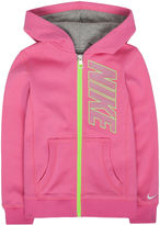 Nike Full-Zip Fleece Hoodie - Preschool Girls 4-6x