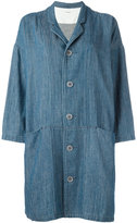 Plantation oversized pockets denim coat - women - Cotton - M