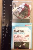 Martha Stewart Living - 24 Led Battery-operated Stocking Lights | 8' Ultra-slim