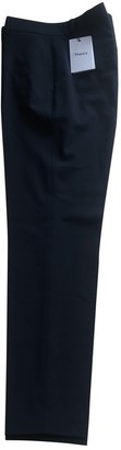 Theyskens' Theory Navy Wool Trousers