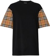 Burberry Vintage Check oversized T-shirt