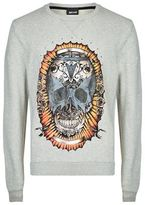 Just Cavalli Skull Print Sweatshirt