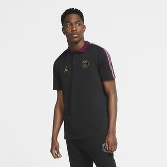 Nike Men's Taped Polo Paris Saint-Germain