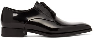 Givenchy Patent Leather Derby Shoes - Mens - Black