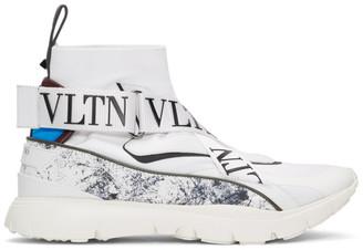Valentino White Garavani VLTN Sock Sneakers