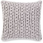 Kenneth Cole Escape 20-Inch Square Throw Pillow in Grey