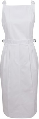 Max Mara White Cotton Dress