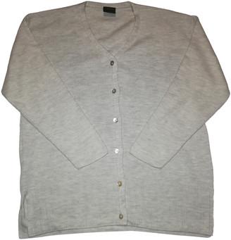 Versace Grey Wool Knitwear