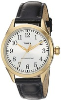 Timex Briarwood Terrace Croco Pattern Leather Strap