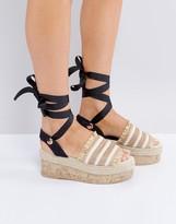 Asos TAKE A BREAK Flatform Sandals