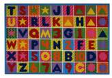 Bed Bath & Beyond Numbers and Letters 5-Foot x 8-Foot Rug