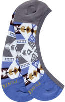 Pendleton Silver Bark Liner No Show Sock (3 Pairs) (Women's)