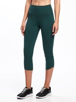Old Navy Go-Dry High-Rise Compression Crops for Women
