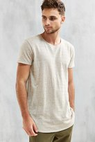 Urban Outfitters Hemp Blend Long Loose Scoopneck Tee