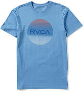 RVCA Motors Lined Standard Short-Sleeve Crewneck Graphic Tee