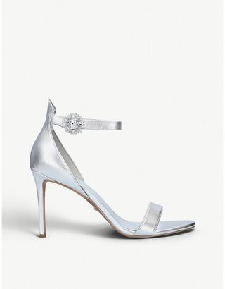 MICHAEL Michael Kors Viola crystal-embellished leather sandals