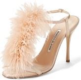 Manolo Blahnik Eila T-Strap Sandal (Women)