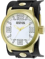 Kenneth Cole Reaction Unisex RK1397 Street Fashion Analog Display Japanese Quartz Black Watch