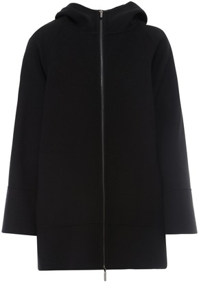 S Max Mara 'S Max Mara Zip Up Hooded Coat