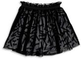 Sorry 4 The Mess Toddler's, Little Girl's & Girl's Mesh Layered Pleated Skirt