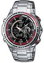 Edifice Casio Men's Analogue/Digital Quartz Watch with Stainless Steel Bracelet EFA-121D-1AVEF