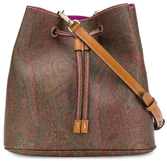 Etro Paisley-Print Crossbody Bag