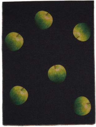 Paul Smith 50th Anniversary Multicolor Green Apple Scarf