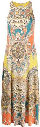 Etro Halter Neck Printed Dress