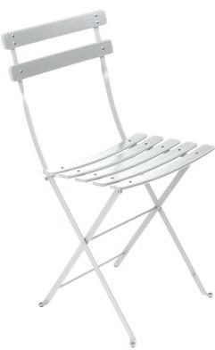 Fermob Bistro Classique Metal Folding Chair Color: Cotton