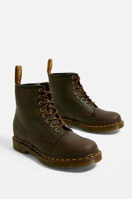 Dr. Martens 1460 Brown 8-Eyelet Boots - brown UK 4 at Urban Outfitters