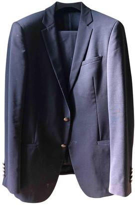 Dolce & Gabbana Grey Cotton Suits