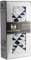 Miracle Baby Soft and Versatile 100% Muslin Cotton Swaddle Blankets, Large