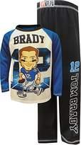 Komar Kids NFLPA Tom Brady Varsity Style Pajamas for Little Boys