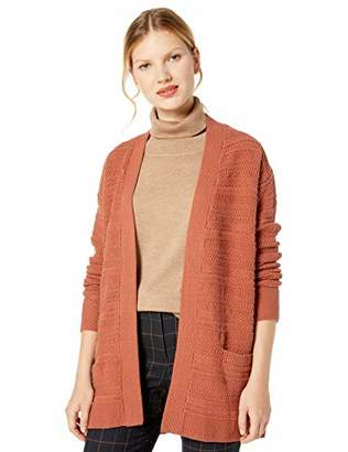 Cable Stitch Women's Textured Tunic Cardigan