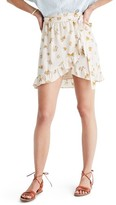 Madewell Women's Meadow Silk Wrap Miniskirt